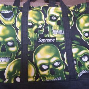 Supreme Skull Tote Ss18
